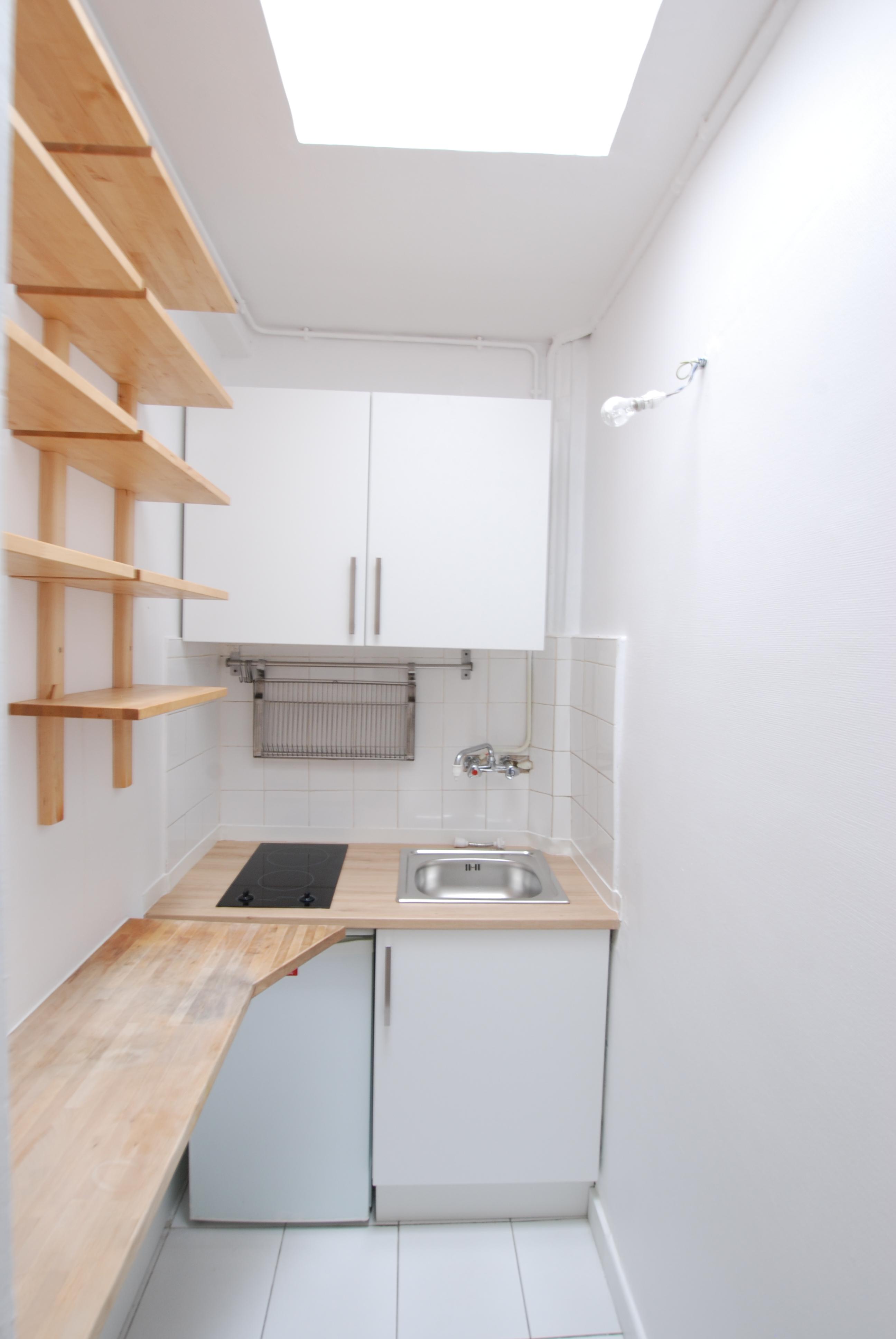 Appartement 2 pi ces paris 17 me evolucim immobilier for Appartement meuble paris 17eme